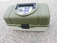 Универсальный ящик, для рыболовных снастей 3 полки