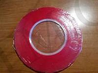Двухсторонний скотч вспененный Ширина:4мм. Длина:2,  5м