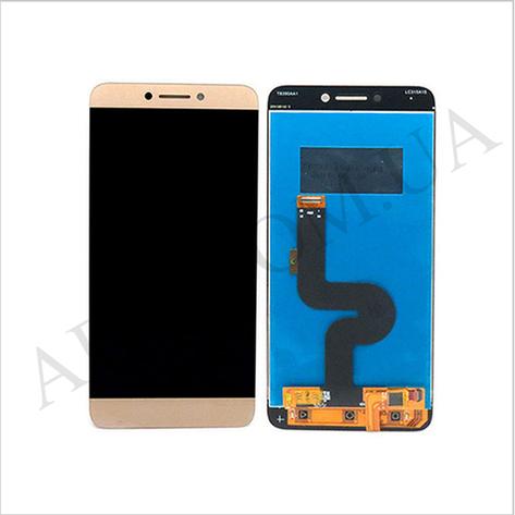 Дисплей (LCD) LeTV X500 One 1s/  X501/  X502/  X507 с сенсором золотой оригинал, фото 2