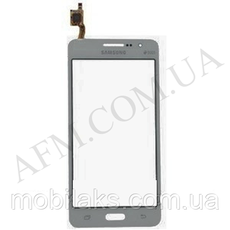 Сенсор (Touch screen) Samsung G530H/  G530F Galaxy Grand Prime серый оригинал, фото 2
