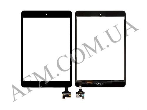 Сенсор (Touch screen) iPad mini/  iPad mini 2 Retina чёрный полный комплект