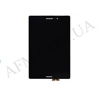 """Дисплей (LCD) Asus Zenpad S Z580C 8.0"""" + touchscreen,   черный,   с передней панелью серебристого цв"""