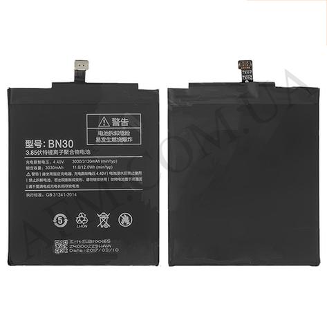 АКБ оригинал Xiaomi BN30 (Redmi 4A) 3030 mAh, фото 2