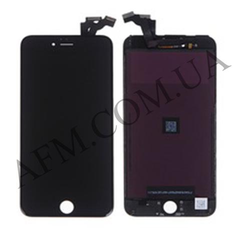 Дисплей (LCD) iPhone 6 Plus с сенсором чёрный оригинал, фото 2