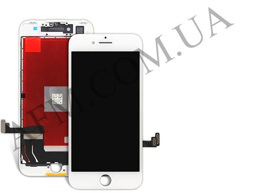 Дисплей (LCD) iPhone 7 Plus с сенсором белый оригинал, фото 2