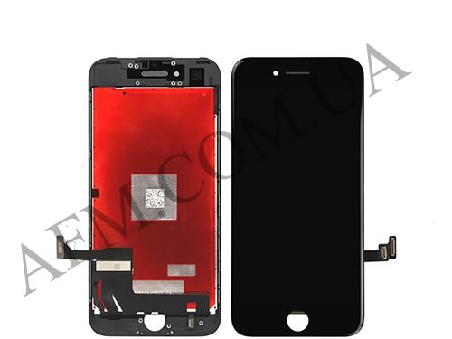 Дисплей (LCD) iPhone 7 Plus с сенсором чёрный оригинал, фото 2