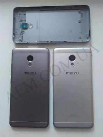 Задняя крышка Meizu M5 Note серебро, фото 2