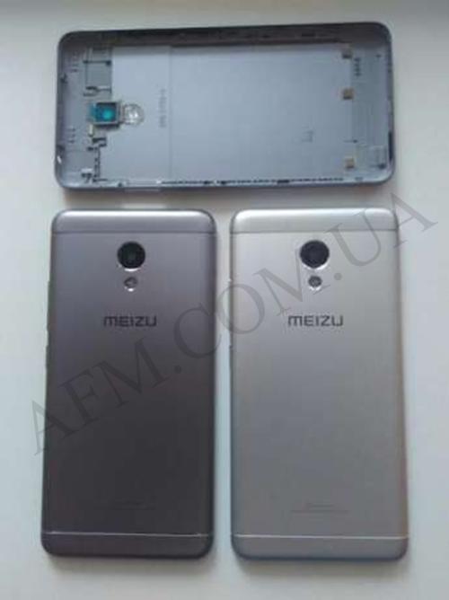 Задняя крышка Meizu M5 Note серебро