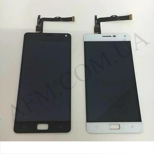 Дисплей (LCD) Lenovo Vibe P1A42 с сенсором белый
