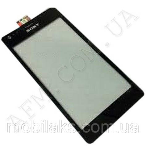 Сенсор (Touch screen) Sony C1905/  C1904/  C2004/  C2005 Xperia M чёрный оригинал, фото 2