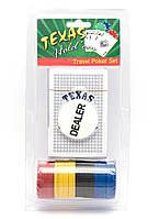 Покерный набор в блистере (колода карт,48 фишек)(20,7х10,5х4,2 см)