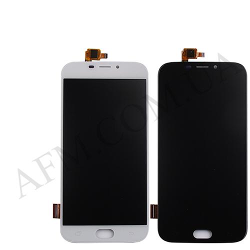 Дисплей (LCD) Doogee X9/  X9 Pro с сенсором белый