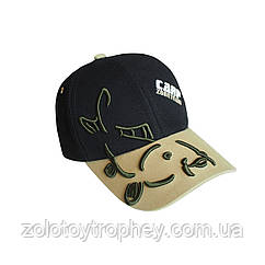 Бейсболка CarpZone Black/Beige Baseball Cap