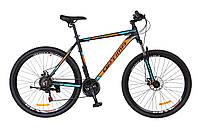 Велосипед Optimabikes 29 MOTION DD 2017 Черно-оранжево-синий