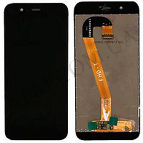 Дисплей (LCD) Huawei Nova 2 (PIC- L29) 2017 с сенсором чёрный