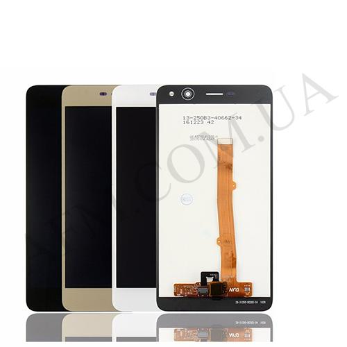 Дисплей (LCD) Huawei Y5 (2017) MYA- L22/  Y5 III/  MYA- U29 с сенсором чёрный