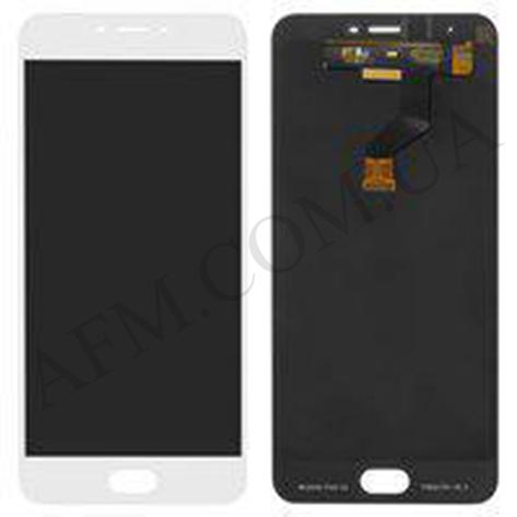Дисплей (LCD) Meizu M3x (Meizu X) с сенсором белый, фото 2