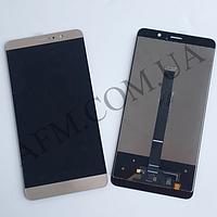 Дисплей (LCD) Huawei Mate 9 с сенсором золотой