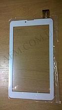 Сенсор (Touch screen) Bravis (185*104) NB74/  NB75/  NP725 3G IPS белый