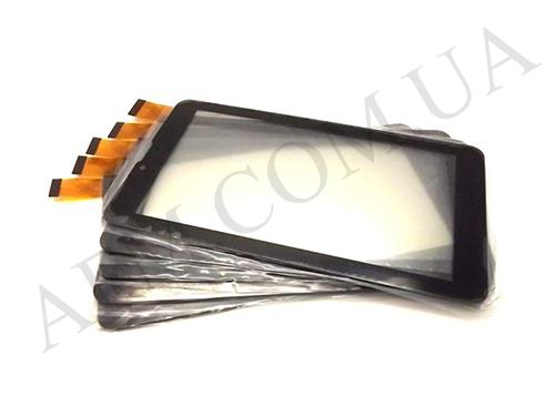 Сенсор (Touch screen) Bravis (185*104) NB74/  NB75/  NP725 3G IPS чёрный