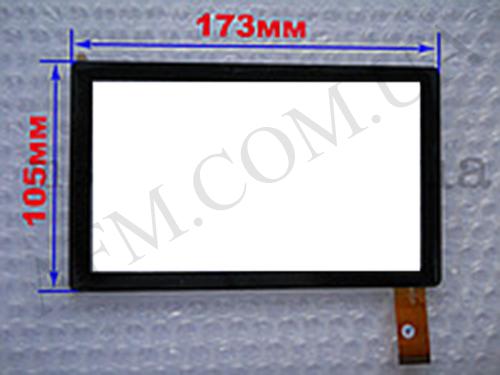 Сенсор (Touch screen) Apache A713/  R- 7926/  Q88 (173*105) чёрный, фото 2