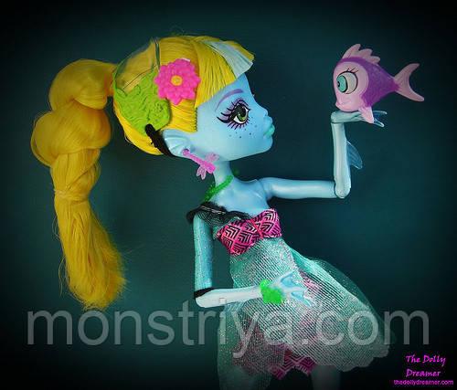 Кукла Monster High Монстер Хай Lagoona Blue Лагуна Блю 13 Wishes 13 Желаний,