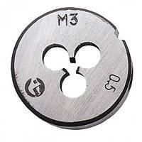 Плашка М 3*0,5 мм Intertool SD-8206