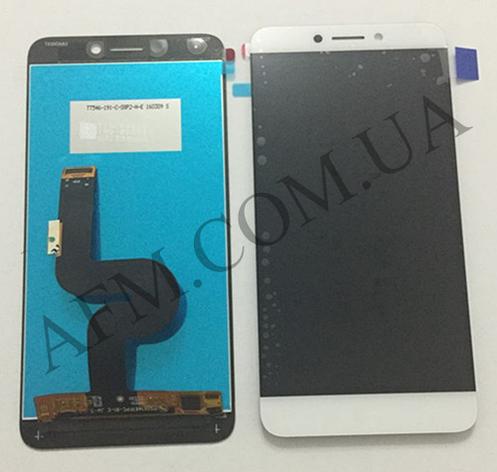 Дисплей (LCD) LeTV X500 One 1s/  X501/  X502/  X507 с сенсором белый оригинал, фото 2