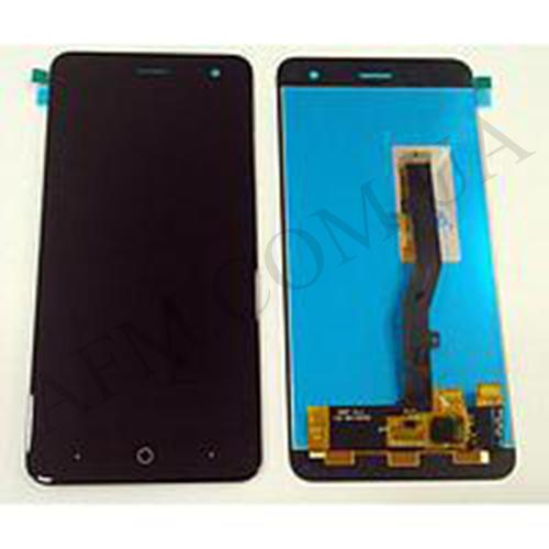 Дисплей (LCD) ZTE V8 Mini с сенсором черный