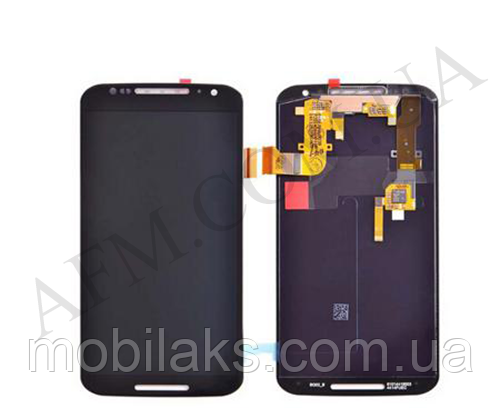 Дисплей (LCD) Motorola XT1092 Moto X/  XT1093/  XT1094/  XT1095/  XT1096 с сенсором чёрный