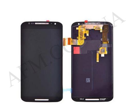 Дисплей (LCD) Motorola XT1092 Moto X/  XT1093/  XT1094/  XT1095/  XT1096 с сенсором чёрный, фото 2