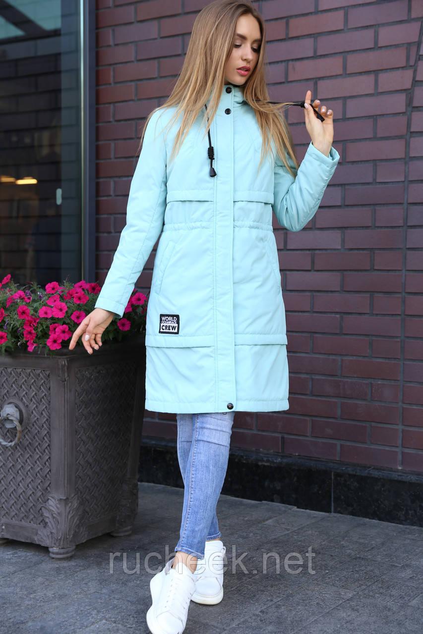 Куртка женская парка Авиана, Весна с Нью вери - Новая коллекция! мята