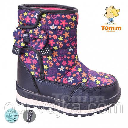 Зимняя обувь Детские дутики от фирмы Tom m(23-28), фото 2