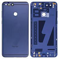 Задняя крышка Huawei Honor 7X BND-L21|Оригинал|Синий|с боковыми кнопками, с кнопкой включения, со стеклом камеры