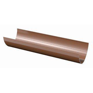 Желоб коричневый 130 мм L-3м.