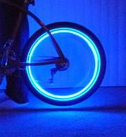 Подсветка колес велосипеда на ниппель и золотник.