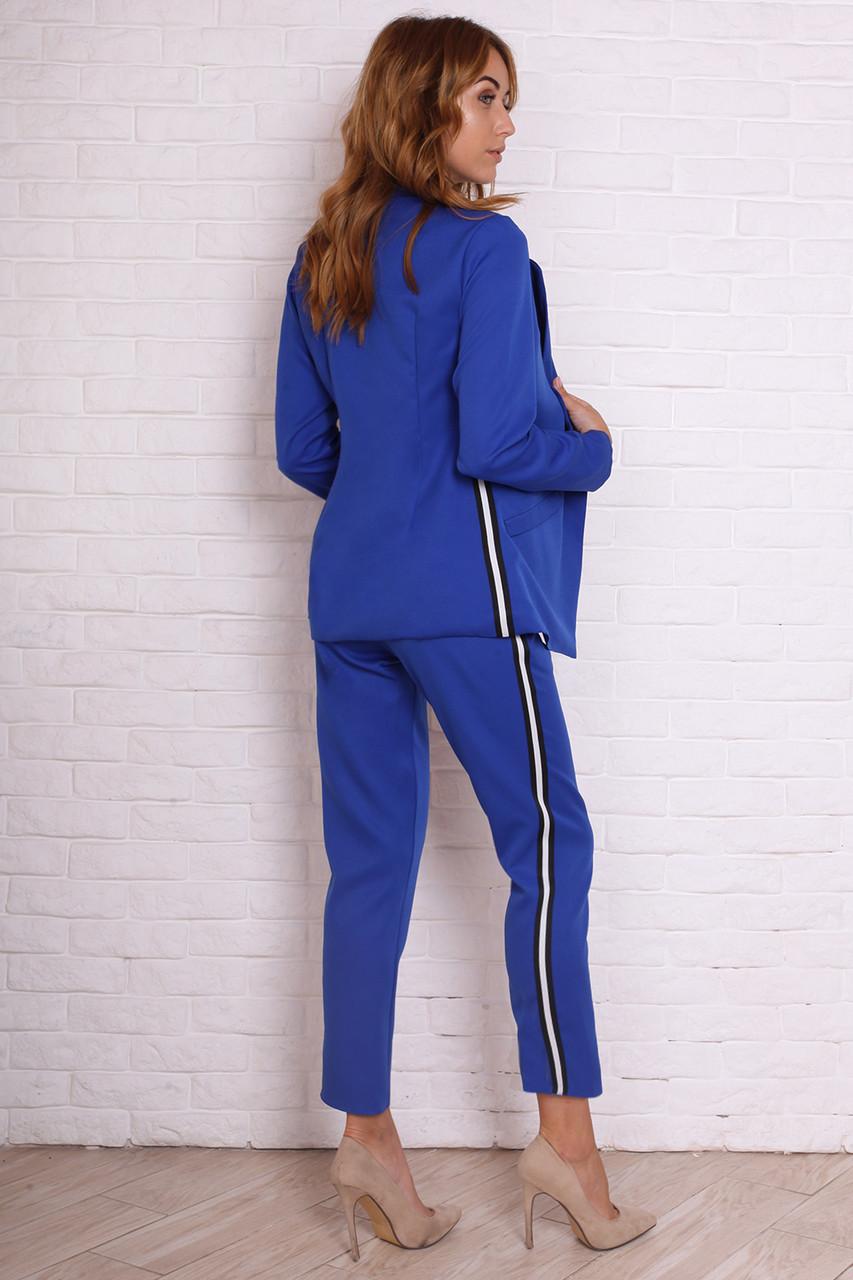 778386a79 Однотонный женский брючный костюм пиджак+брюки размер 44 : продажа ...