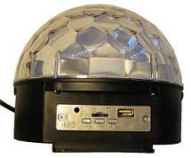 Flash LED CRYSTAL BALL диско шар, фото 2