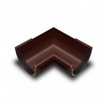 Кут жолоба внутрішній 90* 90мм коричневий