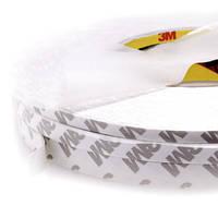 Скотч двусторонний 3M длина 50м, ширина 2мм белый