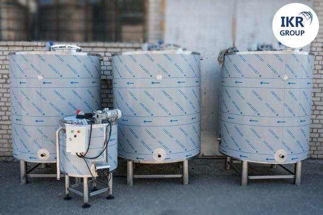 Сыроварня на 600 литров Польша / Варочный котел-сыроварня / пастеризатор для производства сыра новая