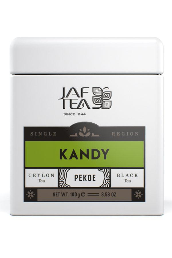 Jaf Tea Single Region KANDY - PEKOE 100гр. жест.банка