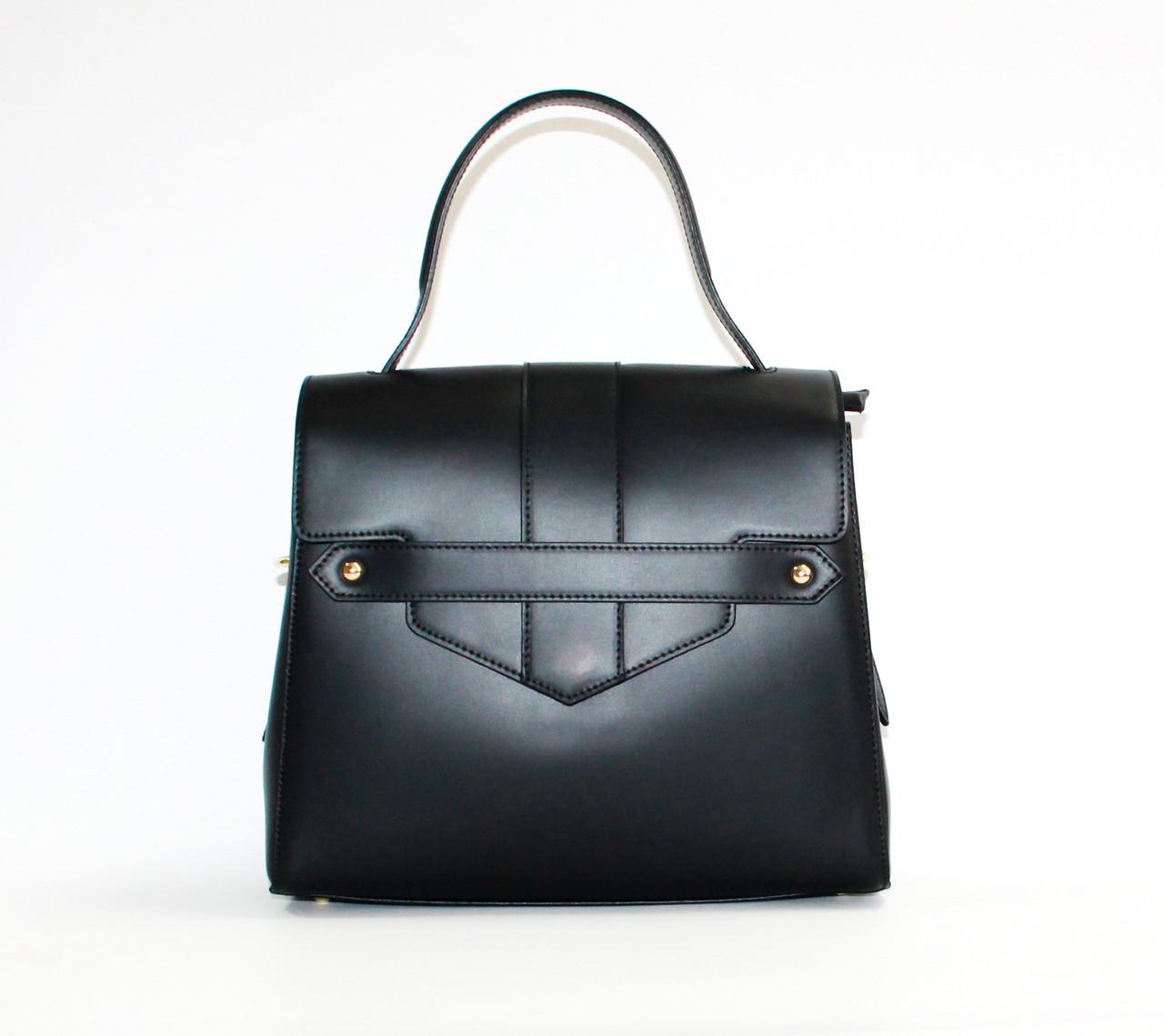 Стильная женская сумка Натуральная кожа Италия