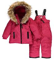 Зимний раздельный комбинезон Canada Weather Gear(США) розовый для девочки 12мес
