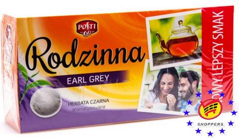 Чай Черный Rodzinna Earl Grey 80п