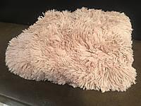 Покрывало на кровать с длинным ворсом цвет песочный 220х240