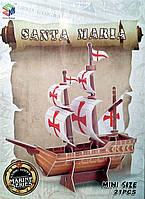 3D пазл  мини «Санта Мария»