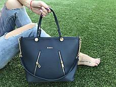 Ультрамодная женская сумка с логотипом с замочками, фото 3