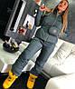Стильный женский лыжный костюм с поясной сумкой, фото 4