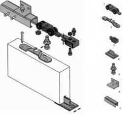Роликовые системы Koblenz для раздвижных дверей